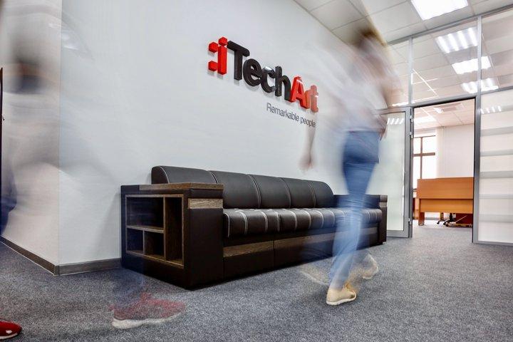Офис iTechArt в Гродно (у дивана)