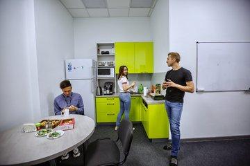 Офис iTechArt в Гродно (кухня)
