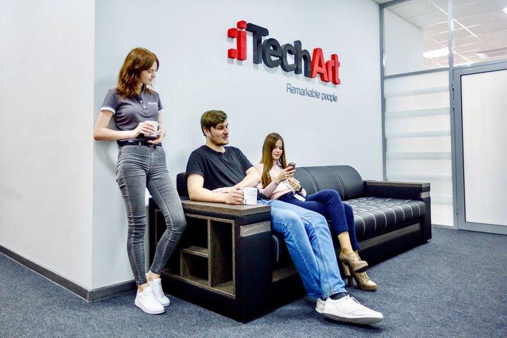 Команда разработчиков iTechArt в Гродно1