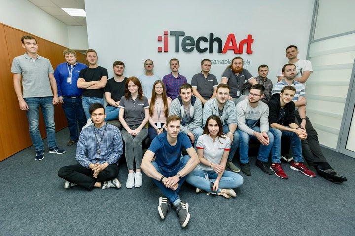 Команда разработчиков iTechArt в Гродно