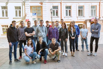 Команда разработчиков iTechArt в Гродно (улица)