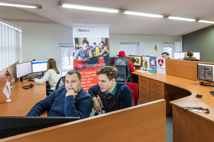 Командная работа в iTechArt, Витебск