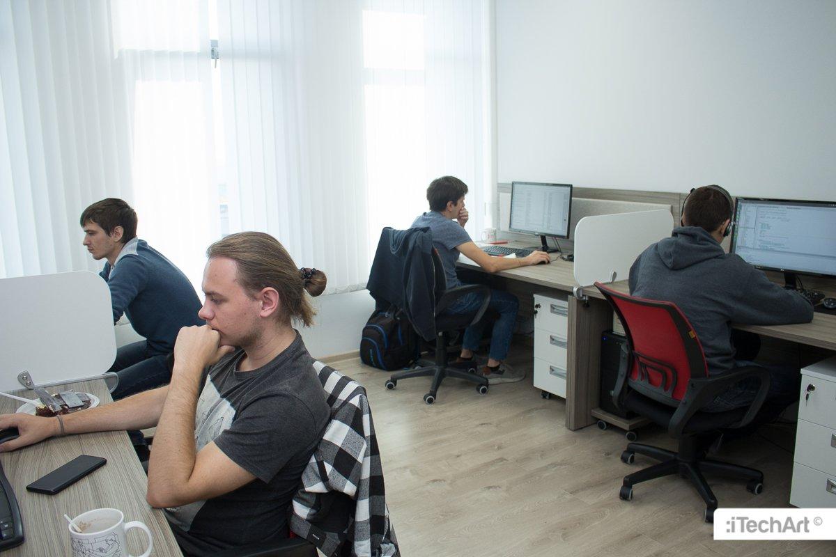 Новый офис iTechArt в Минске на Платонова - фото 1